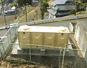 岡山金陵CC奥坂水道施設設置工事