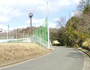 中山公園野球場防球ネット修繕